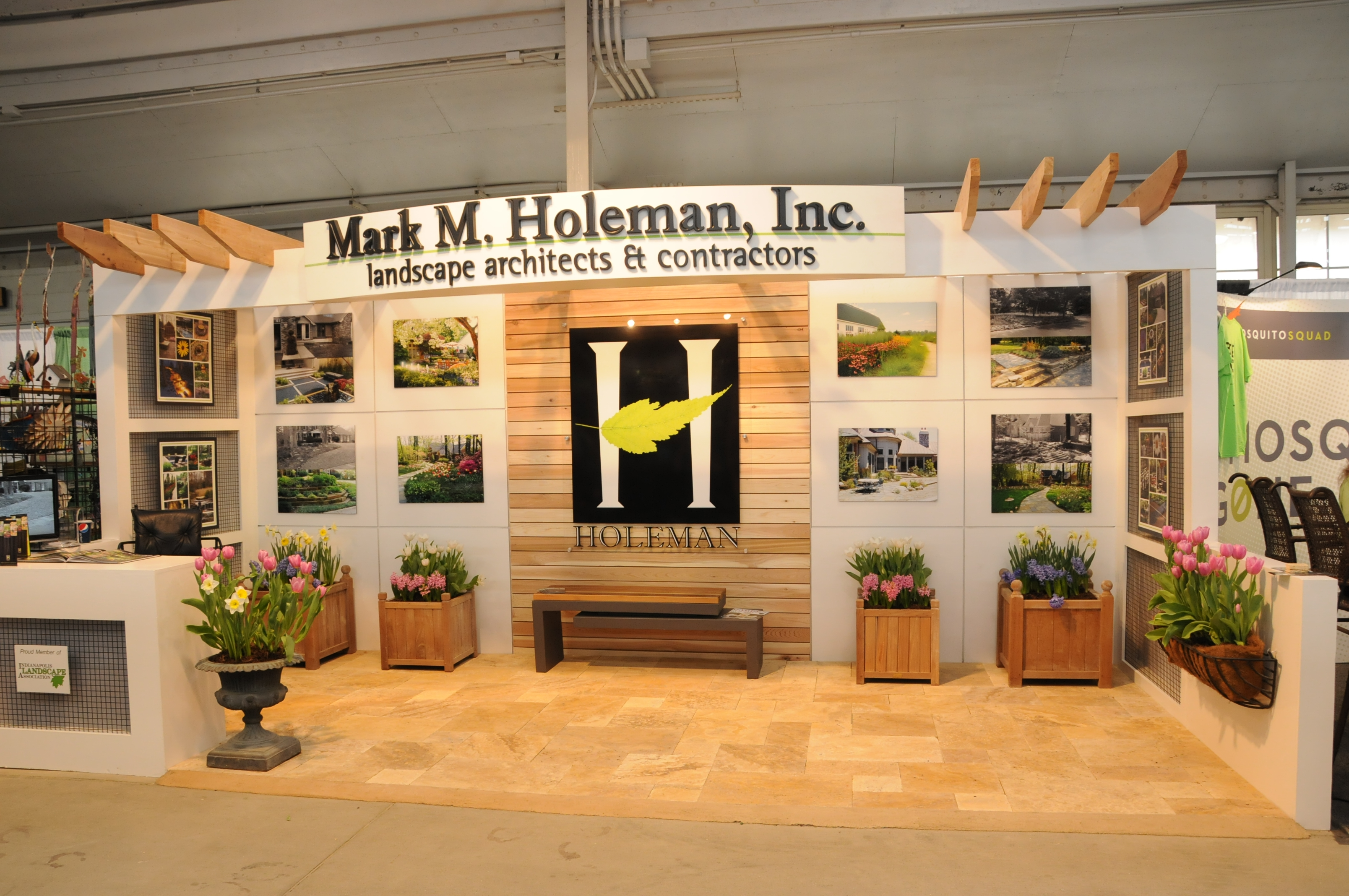 Award Winning Booth At The 2017 Flower And Patio Show