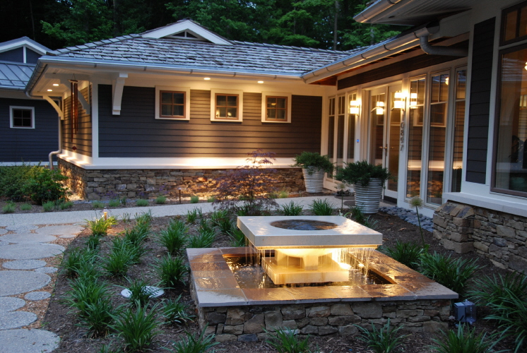 Moonlight and roses - How to design outdoor lighting plan ...